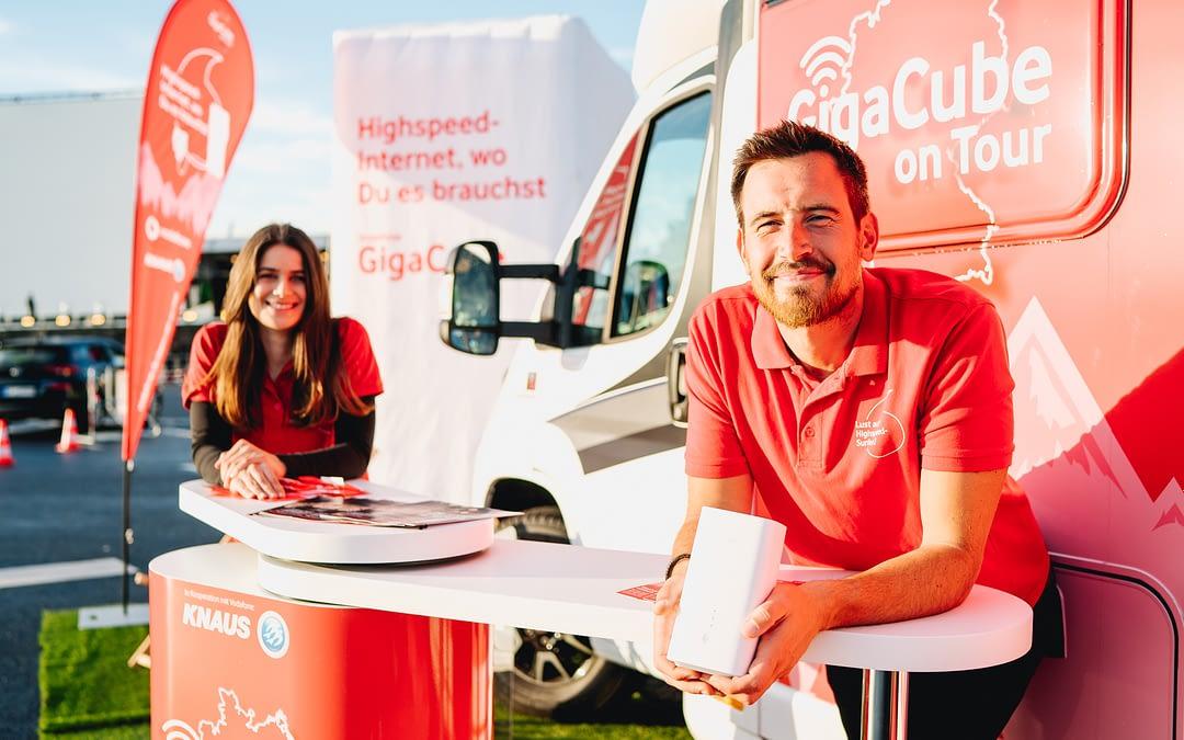 Event: Vodafone GigaCube Promotion