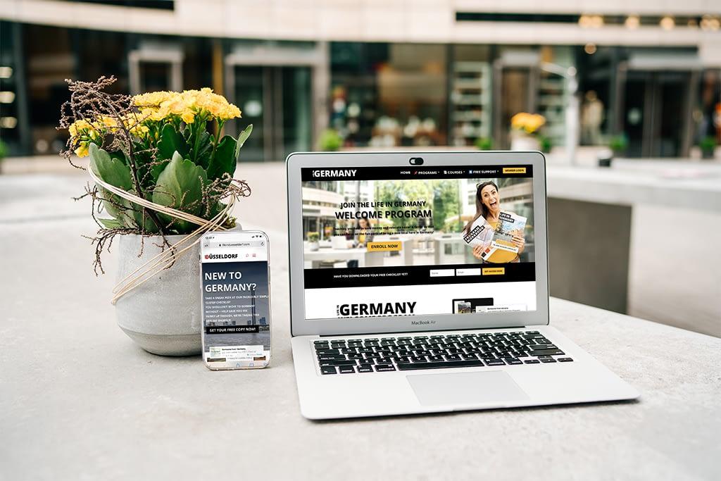 Blogger Fotos Life in Düsseldorf Jenna Davis